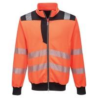Portwest PW3 Hi-Vis Sweatshirt - Orange/Black