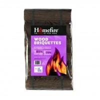 100% Natural Wood Briquette -12 Pack
