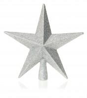 Silver Tree Top Star