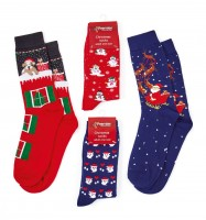 Adult Christmas Socks - Assorted