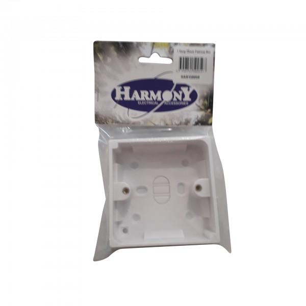 1 Gang 25mm Pattress Box