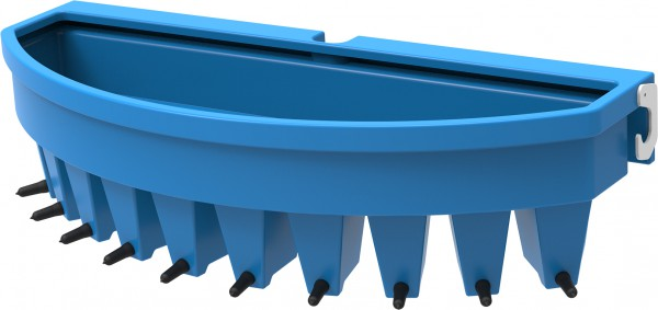 10 Teat Compartment Gate Feeder