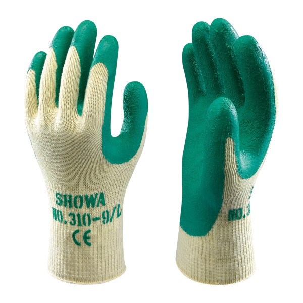 Showa Grip Gloves Green