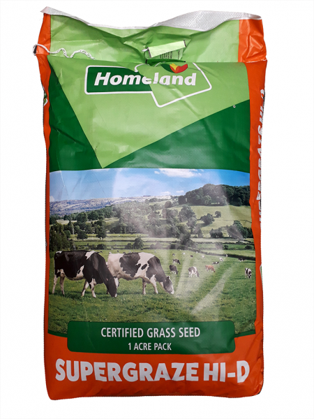 Homeland Super Graze Hi D 1 Acre Bag