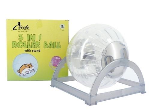 "7"" Hamster Ball & Stand"