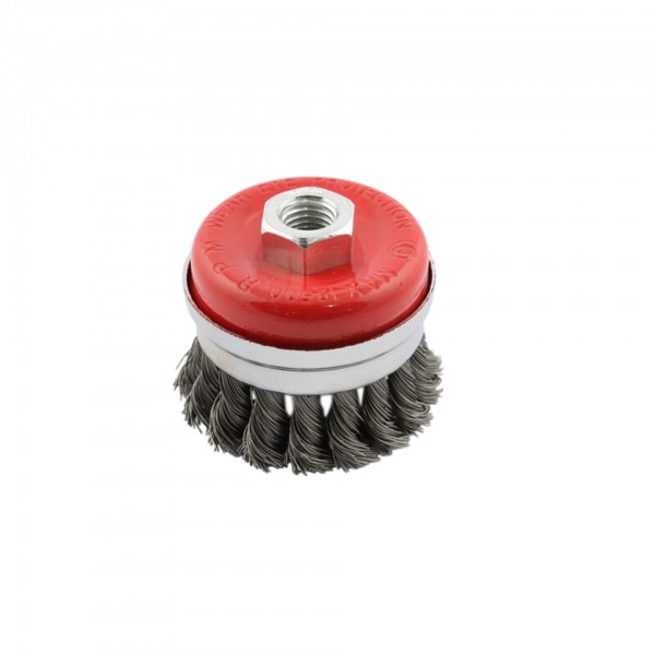 M14 Knotted Cup Wire Brush