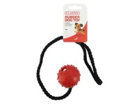 Rubber Pimple Ball On A Rope