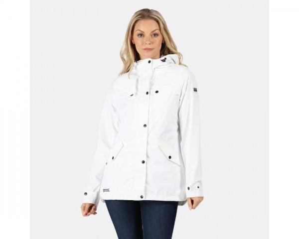 Bertille Lightweight Hooded Waterproof Jacket White