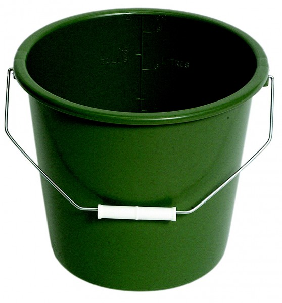 2 Gallon Green Bucket Bored