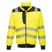 Portwest PW3 Hi-Vis Sweatshirt - Yellow/Black