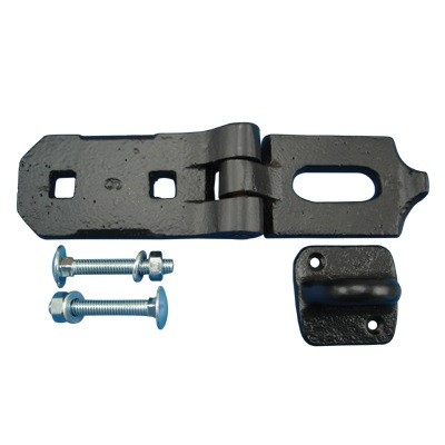 Heavy Duty Hasp & Staple 8""