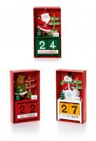Wooden Advent Calendar - Assorted