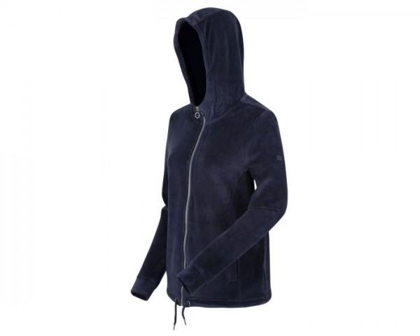 Regatta Ranielle Full Zip Hooded Fleece Fusion - Navy