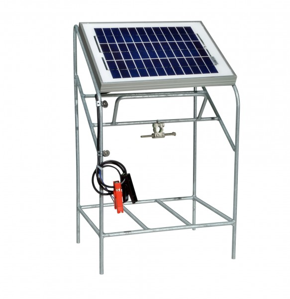 Solar Panel with Regulator & Stand