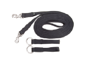 Equisential Padded Draw Reins