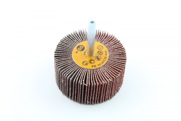 Flap Disc On Shaft For Hand Drill