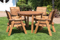 Heavy Duty Table & 4 Chairs