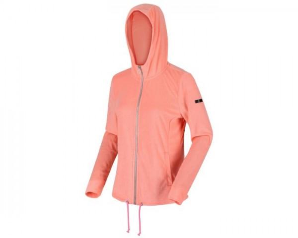 Regatta Ranielle Full Zip Hooded Fleece Fusion - Coral