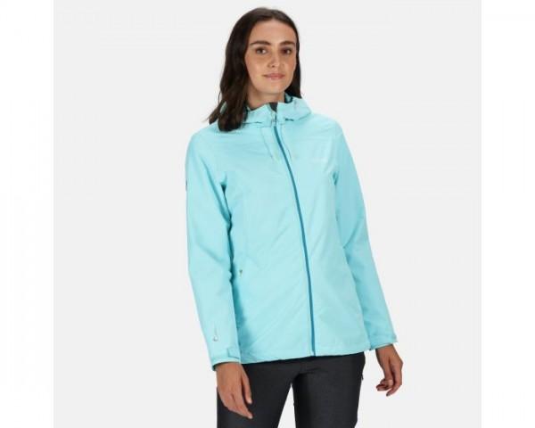 Regatta Hamara III Lightweight Waterproof Hooded Walking Jacket - Cool Aqua