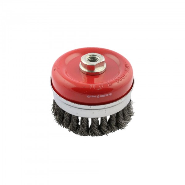 M2 Knotted Cup Wire Brush