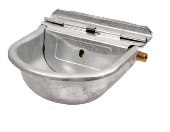 Galvanised Drinking Bowl