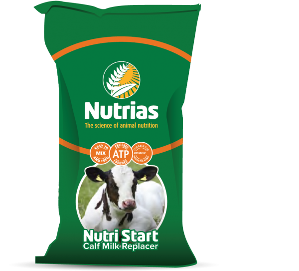 Nutrias Nutri Start Calf Milk Replacer 20kg - FREE DELIVERY OFFER