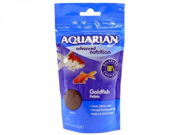 Aquarian Goldfish Pellets 100g