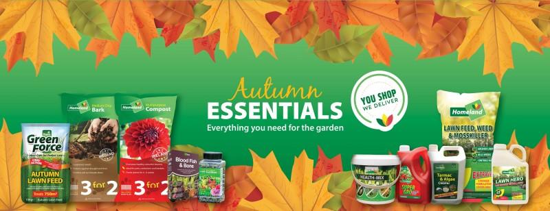 Autumn Garden Essentials