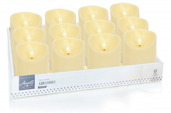 Flickabright 10cm Candles