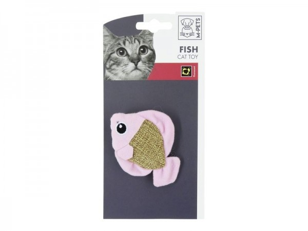 Fish Canvas Cat Toy