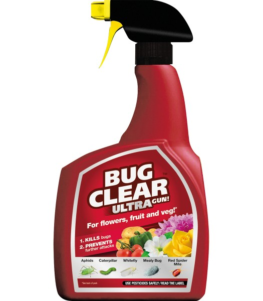 Bug Clear Gun For Fruit & Veg Ready To Use 750 ML