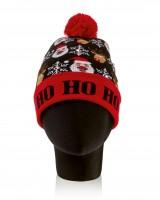 Christmas LED Hat with Pom Pom