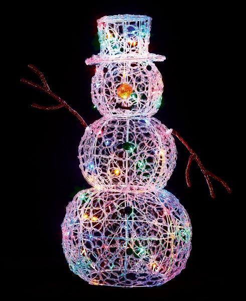 LED Soft Acrylic Snowman