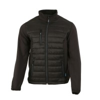 Crosby Quilted Softshell Jacket Black