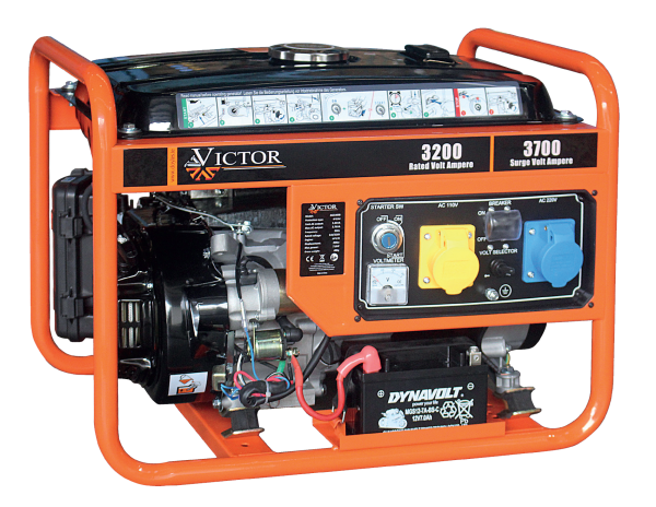 Victor Generator 3.7KVA