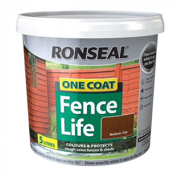Ronseal One Coat Fencelife Range 5L