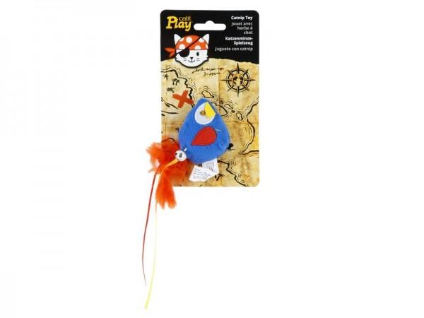 Play Pirates Catnip Toy Parrot