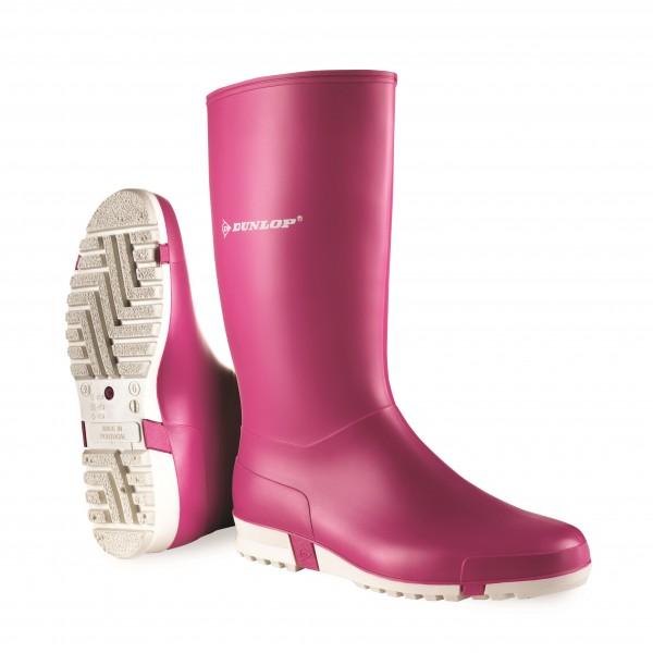 Dunlop Sport Ladies Pink Wellington