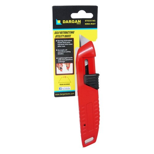 Auto Retractable Safety Knife