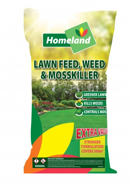 Homeland Lawn Feed Weed& Moss Killer