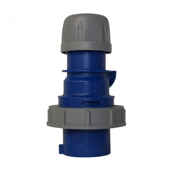 16a 220v Outdoor Plug Blue Ip67