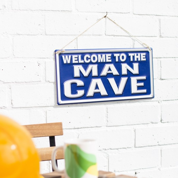 Steel Sign Man Cave Sign
