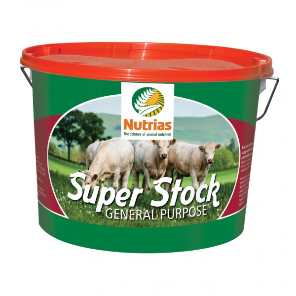 Nutrias Super Stock (18KG Bucket)