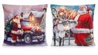 Santa LED Cushion - Assorted