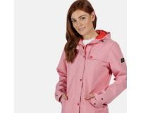 Bertille Lightweight Hooded Waterproof Jacket Red Sky