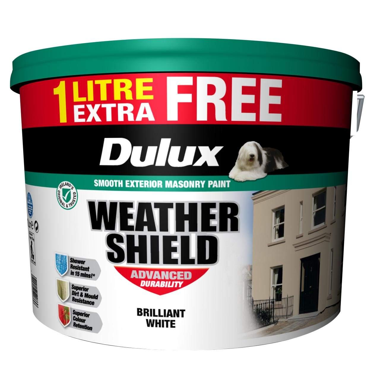 Dulux weathershield paint white magnolia homeland stores - Weathershield exterior paint system ...