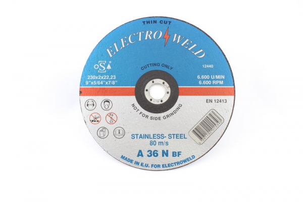 Electroweld Thin Line Stainless Steel Cutting Disc