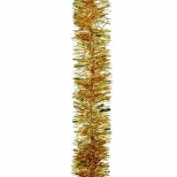 Luxury Tinsel Gold Colours - 200cm X 15cm