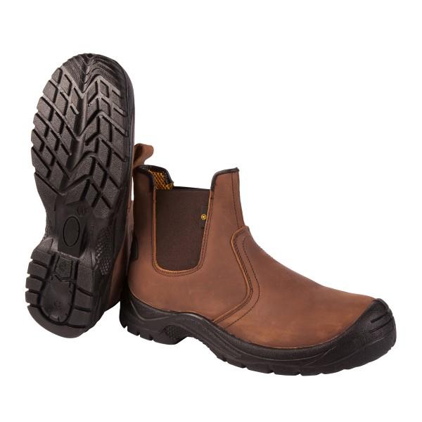 New Westaro Dealer Boot Brown S1P