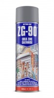 Cold Zinc Galvanised Spray